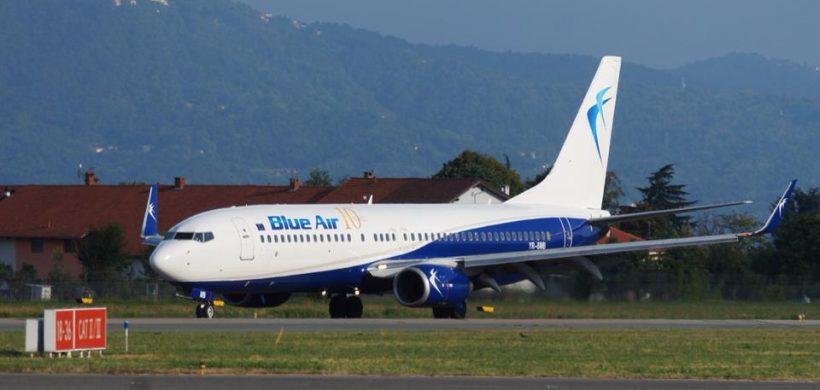 Blue Air: 20% reducere la toate zborurile pe toate destinatiile