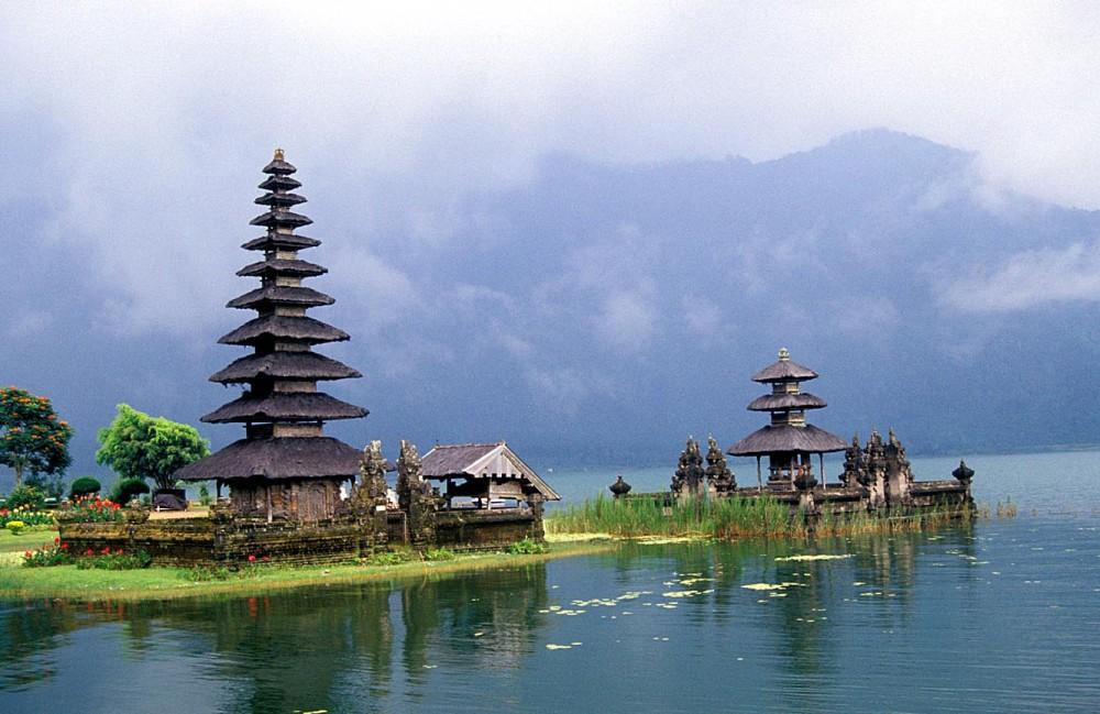 Pura Ulun Danu Bratan, Bali.