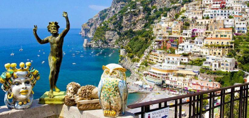 Minivacanta pe Coasta Amalfi, Positano: 199 EUR/pers (zbor, cazare 3 nopti, mic-dejun, transfer)