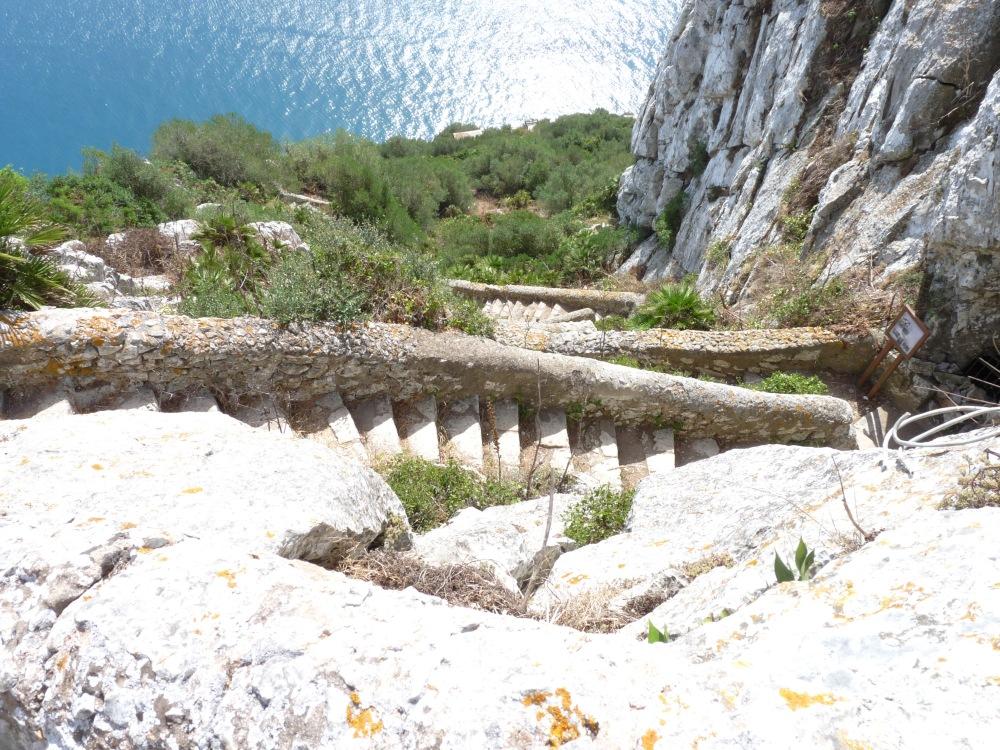 treptele mediteraneene gibraltar