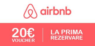 Inregistrează-te și obții 20 EUR credit la prima rezervare.