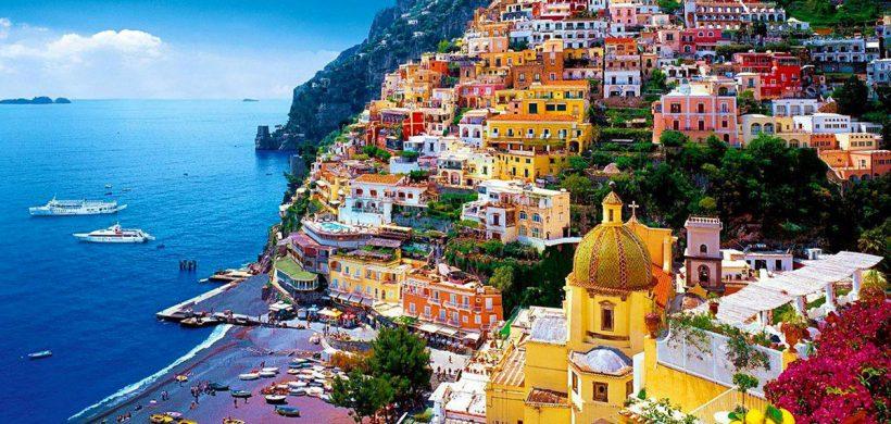 Vacanta pe Coasta Amalfi, 168 euro! (zbor, cazare 4 nopti, mic-dejun si transfer)