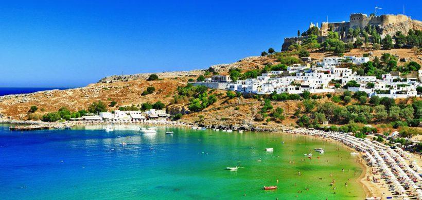 Zboruri ieftine catre insula Rhodos in iunie, iulie, august si septembrie! de la 121 euro dus-intors