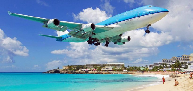 Promotie KLM/Air France catre Caraibe, St. Martin pana maine!