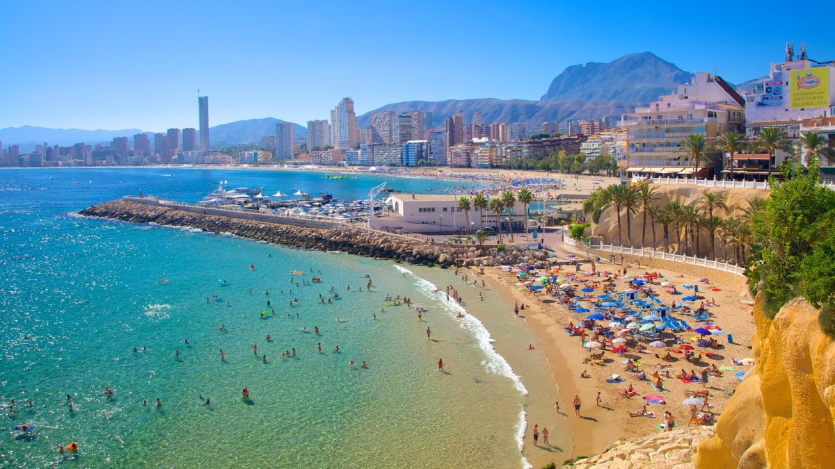Image result for benidorm spania