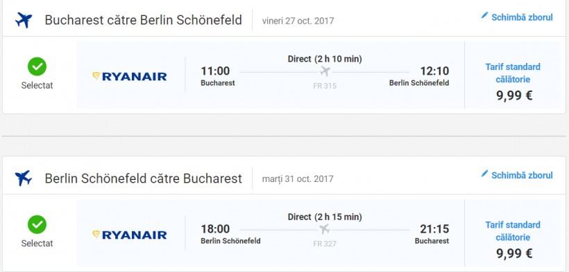 Promotie Ryanair! 250.000 de locuri la 10 euro!