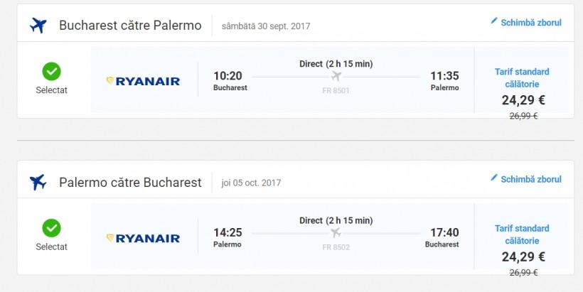 Vacanta in Sicilia, 130 euro! (zbor si cazare 5 nopti)