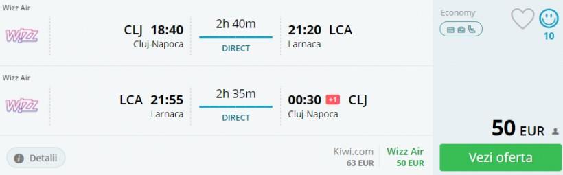 Weekend prelungit in Cipru! 96 euro (zbor si cazare 3 nopti)
