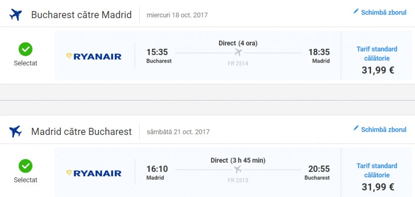 City break Madrid, 131 euro! (zbor si cazare 3 nopti)