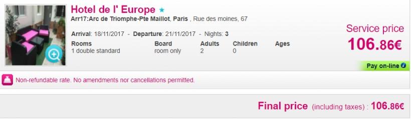 Weekend prelungit in Paris! 132 euro (zbor si cazare 3 nopti)