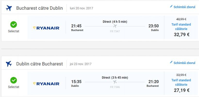 City break Dublin, 127 euro! (zbor si cazare 3 nopti)