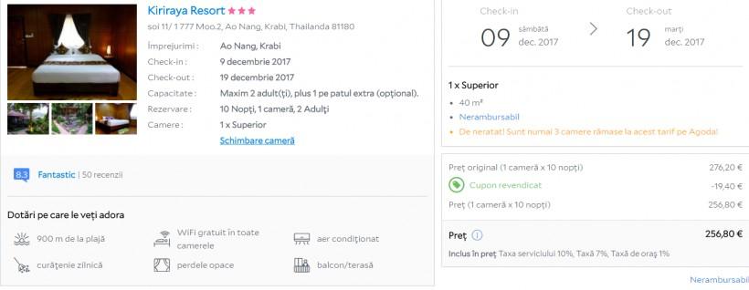 URGENT! Thailanda in plin sezon! 561 euro (zbor si 10 nopti cazare)