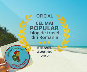 Aventurescu este cel mai popular blog de travel din Romania, premiat la eTravel Awards 2017