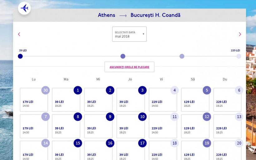 O noua ruta Wizzair! Atena, 18 euro dus-intors din Bucuresti si Cluj