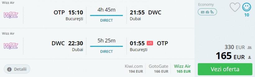 Vacanta in Dubai, 237 euro! (zbor si cazare 4 nopti)