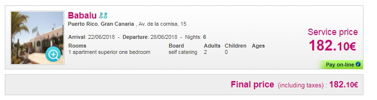 First minute 2018! Vacanta in Gran Canaria, 242 euro! (zbor si cazare 6 nopti)