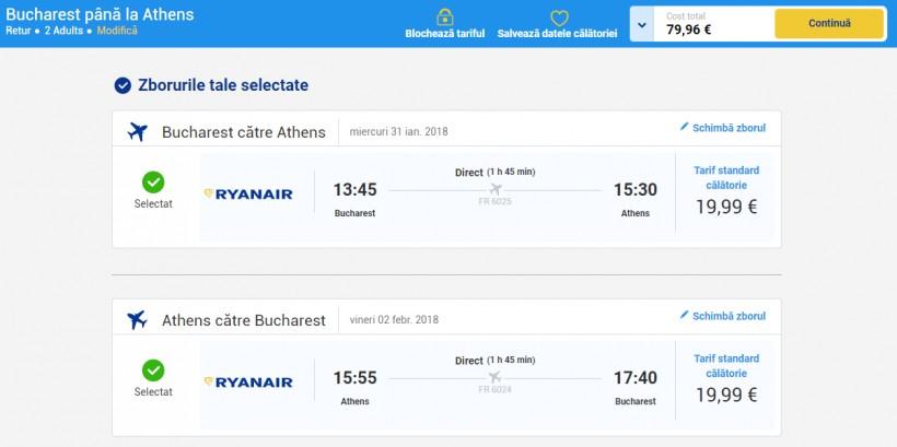 City break Atena, 56 euro! (zbor si cazare)