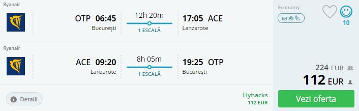 Vacanta in Insulele Canare, 202 euro! (zbor si cazare 6 nopti)