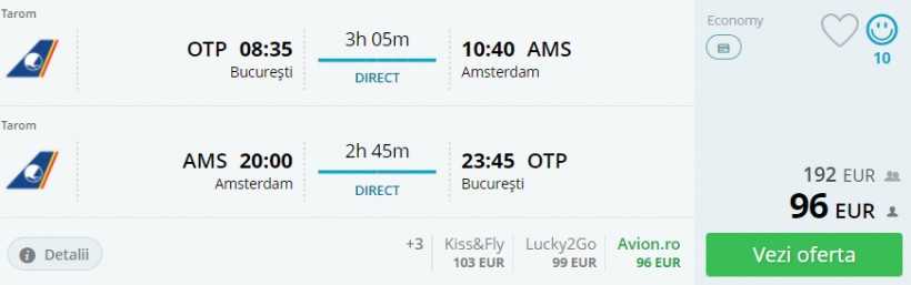 Weekend in Amsterdam, 159 euro! (zbor si cazare)