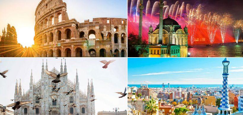 28 idei pentru un city break de Revelion! de la 145 euro (zbor si cazare)