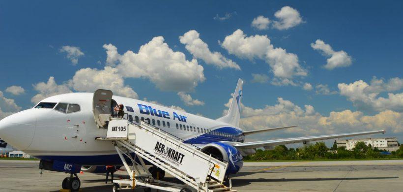 Blue Air sărbătorește 13 ani de activitate cu premii și reduceri