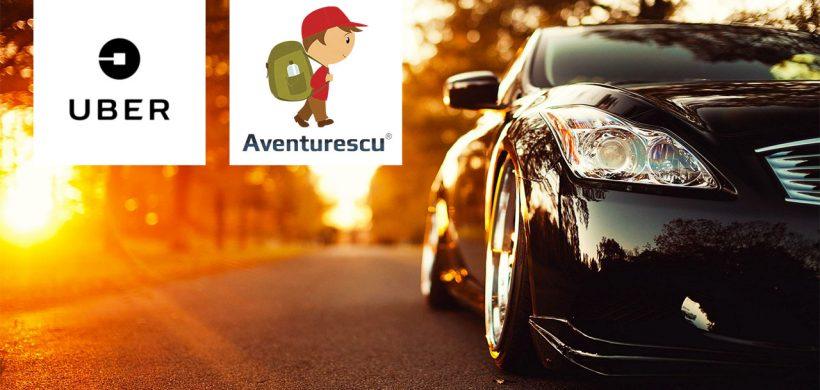 AVENTURESCU devine ambasador UBER în România și îți oferă prima cursă gratuită