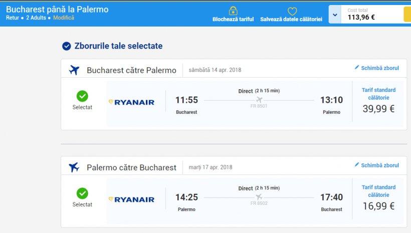 Weekend prelungit in Sicilia, 102 euro! (zbor si cazare 3 nopti)