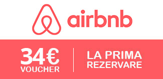 Ai 34 euro credit la prima rezervare, daca iti faci un cont nou pe Airbnb
