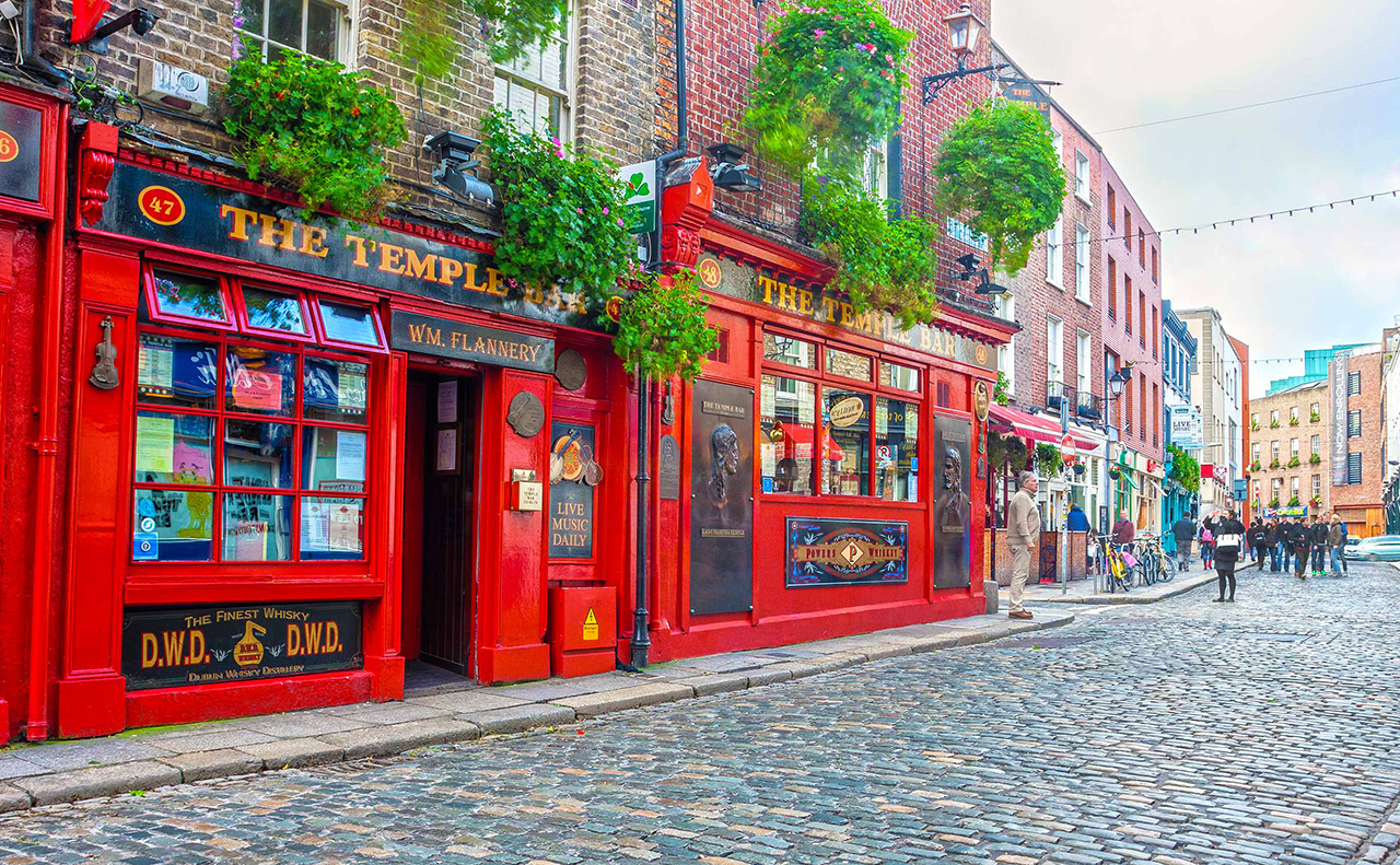 City break in Dublin, 111 euro! (zbor si cazare 3 nopti)