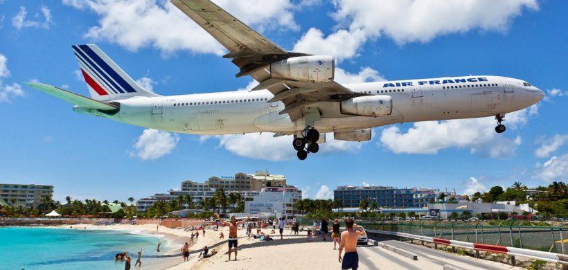 Zboruri catre Caraibe, St. Martin in plin sezon, de la 499 euro cu KLM/Air France!